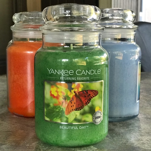 Yankee Candle Beautiful Day Large 22 Oz. Jar, New
